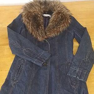 Nine West Size S Jean Jacket